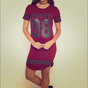 Bossy 98 T-shirt Dress